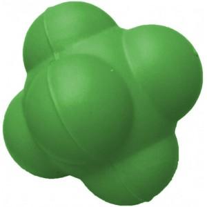 Мяч для тренировки реакции  7см зеленый твердый