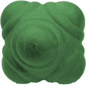 Мяч для тренировки реакции 10см зеленый твердый