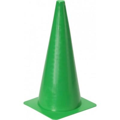 """Конус маркировочный 15 """"(38 см) зеленый - пилоны"""
