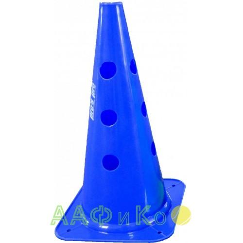 Конус маркировочный с отверстиями  Premium 38 см синий