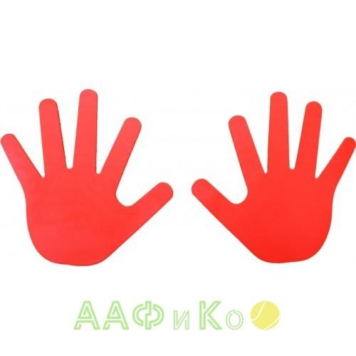 Маркировка руки красная