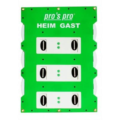 Табло счета Pros Pro двухстороннее 82х58 см зеленое