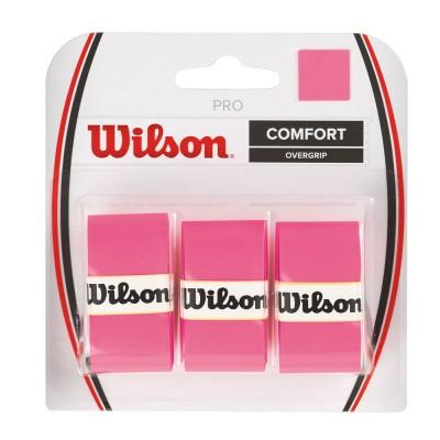 Обмотка для т/ракеток Wilson Pro Overgrip (3шт.в уп.) розовый