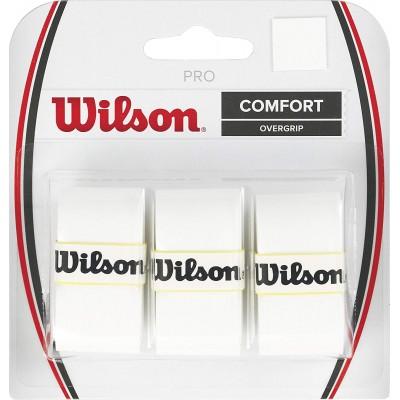 Обмотка для т/ракеток Wilson Pro Overgrip (3шт.в уп.) белый