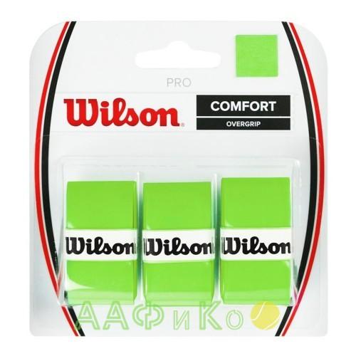 Обмотка,намотка для т/ракеток Wilson Pro Overgrip Blade  (3шт.в уп.) зелёный