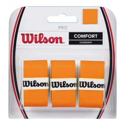 Обмотка для т/ракеток Wilson Pro Overgrip Burn (3шт.в уп.) оранжевый