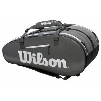 Чехол-сумка для ракеток Wilson SUPER TOUR 3 COMP BKGY