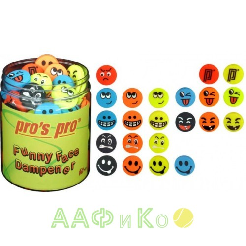 Виброгаситель Pros Pro Funny Face 60шт Box