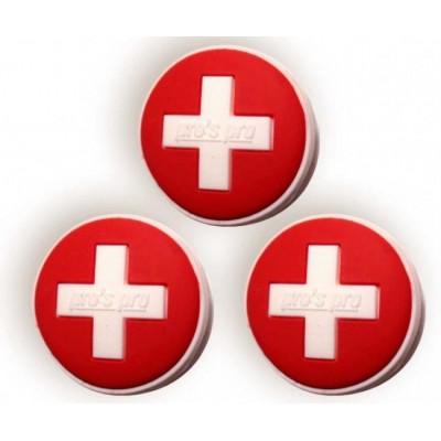 Виброгаситель Pros Pro Vibra Stop Switzerland круглый 3шт/уп