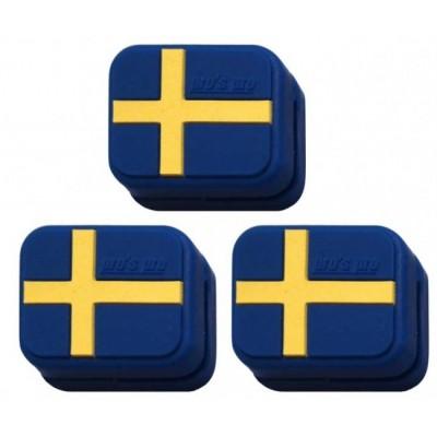 Виброгаситель Pros Pro Vibra Stop Sweden прямоугольный  3шт/уп