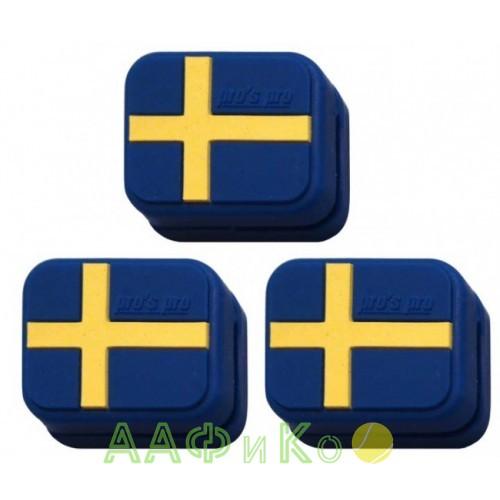Виброгаситель Vibra Stop Sweden прямоугольный  3шт/уп