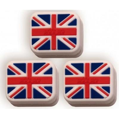 Виброгаситель Pros Pro Vibra Stop Great Britain прямоугольный 3шт/уп
