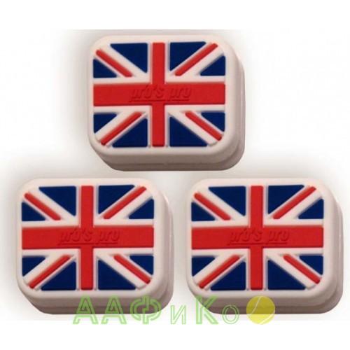 Виброгаситель Vibra Stop Great Britain прямоугольный 3шт/уп