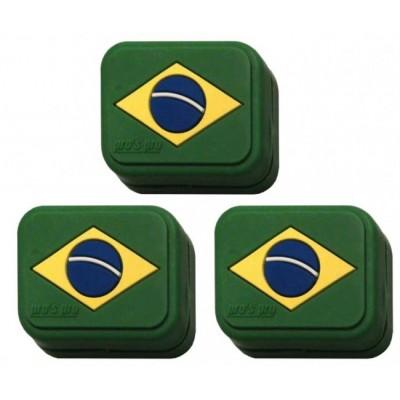 Виброгаситель Pros Pro Vibra Stop Brasil прямоугольный 3шт/уп