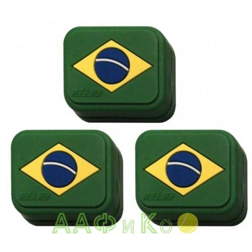 Виброгаситель Vibra Stop Brasil прямоугольный 3шт/уп