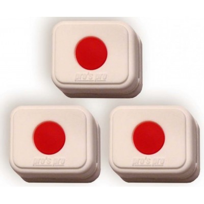 Виброгаситель Pros Pro Vibra Stop Japan прямоугольный 3шт/уп