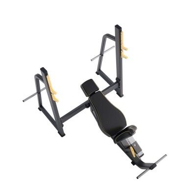 E-1042В Скамья-стойка для жима под углом вверх (Olympic Bench Incline)