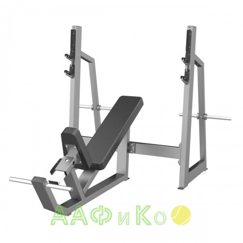 E-3042 Скамья-стойка для жима под углом вверх (Olympic Bench Incline)