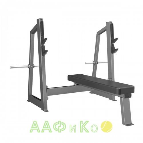 E-3043 Скамья-стойка для жима штанги лежа (Olympic Bench)