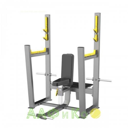 E-3051 Скамья для вертикального жима штанги (Olympic Seated Bench)