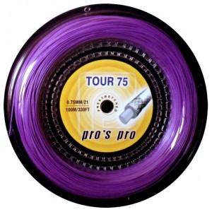 Струны для бадминтона PROS PRO Tour 75 100 m violett