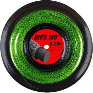 Струны для сквош Pros Pro S-200, (110 м) неоново-зеленые