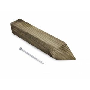 Клин деревянный