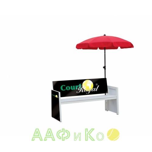 Зонт с держателем для скамеек