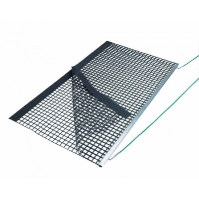 Коврик для уборки теннисного корта Aluminium Drag Net, Double PVC