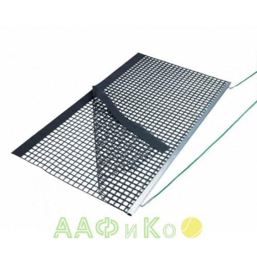 Коврик для уборки теннисного корта Aluminium Drag Net, Double PVC
