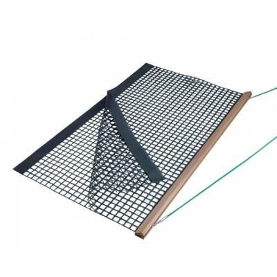 Коврик для уборки теннисного корта Wooden Drag Net, Double PVC