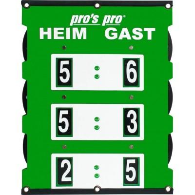 Табло счета Pros Pro  60 x 46 cm° зелёное