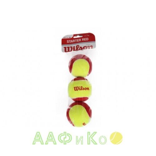 Мячи теннисные Wilson Stalter Red Tball 3 шт. в упак. (WRT137001)