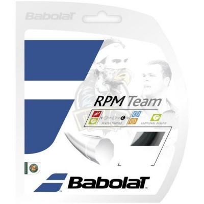 Струны теннисные Babolat RPM TEAM 1.25/12 M (чёрный)