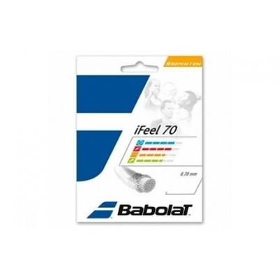 Струны для бадминтона BABOLAT IFEEL 0.70/200м (жёлтый)