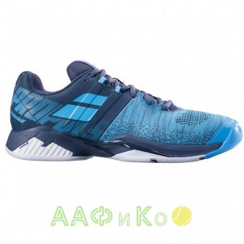 Кроссовки теннисные Babolat  PROPULSE BLAST AC M (серый/синий)