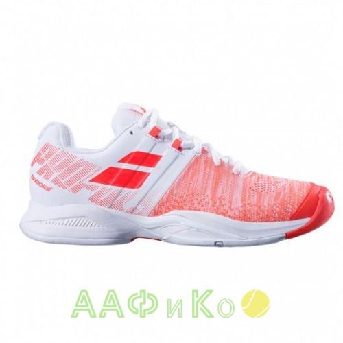Кроссовки теннисные Babolat PROPULSE BLAST AC W (белый/красный)