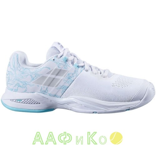 Кроссовки теннисные Babolat PROPULSE BLAST AC W (белый/синий)