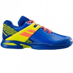Кроссовки теннисные Babolat PROPULSE ALL COURT JR (синий/ярко-жёлтый)
