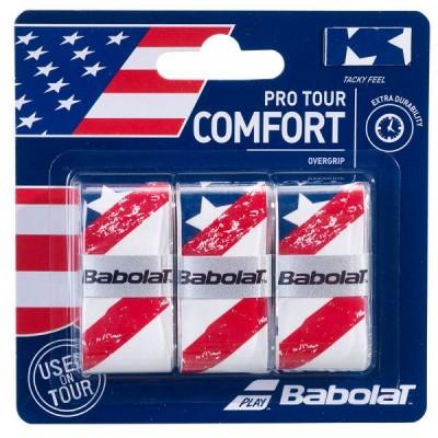 Намотка Babolat OVERGRIPS USA X3 (кантри) 3шт.
