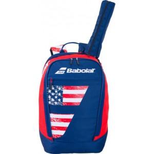 Рюкзак-сумка для теннисных ракеток Babolat BACKPACK CLASSIC FIAG 20 (синий/красный)
