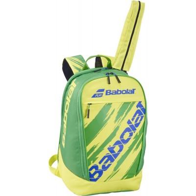 Рюкзак-сумка для теннисных ракеток Babolat BACKPACK CLASSIC FIAG 20 (жёлтый/зелёный/синий)