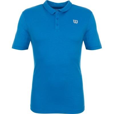 Майка спортивная Wilson Training Polo Men (синий)