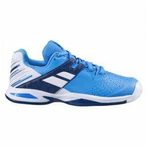 Кроссовки теннисные Babolat PROPULSE AC JR (белый/синий)