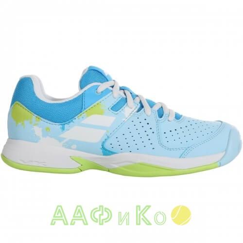 Кроссовки теннисные Babolat PULSION AC JR (небесно/голубой)