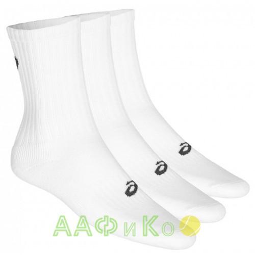 Носки спортивные Asics Crew Sock 3 пары в упаковке (белые)