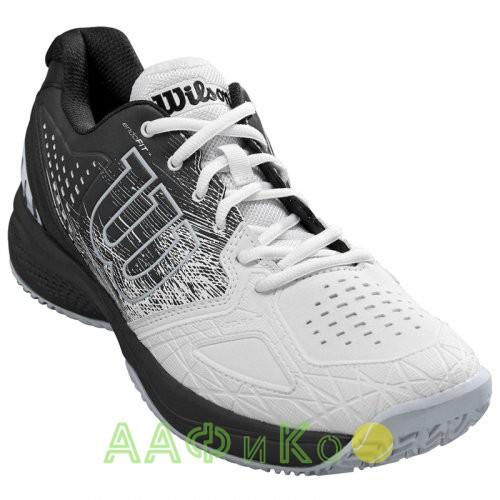 Кроссовки теннисные мужские Wilson KAOS COMP 2.0 (белый/чёрный)