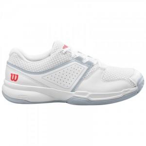 Кроссовки теннисные женские Wilson Court Zone (белый)