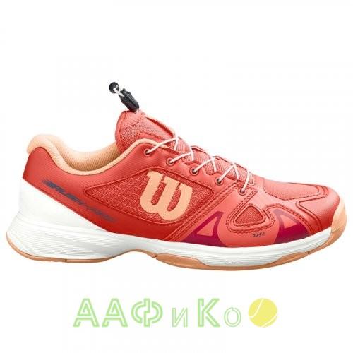 Кроссовки теннисные мужские Wilson Rush Pro JR QL (розовый)