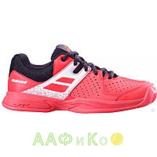 Кроссовки теннисные Babolat PULSION AC JR (красный/чёрный)